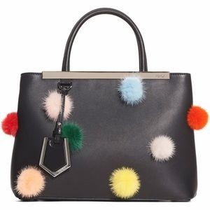 FENDI Petite2Jours Genuine Mink Fur & Leather Shop